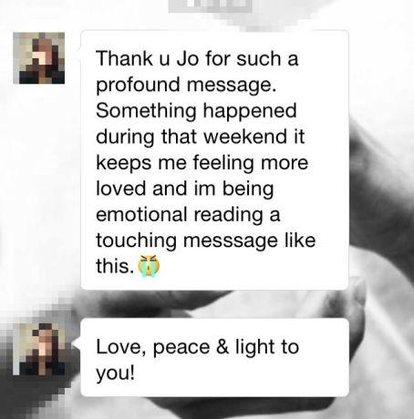 feedback Reiki-Janice