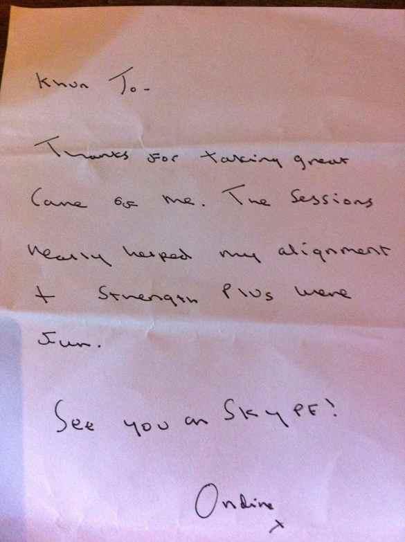 Ondine's note