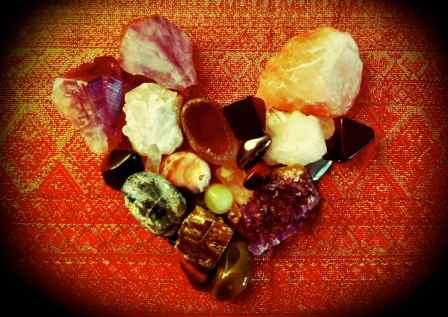 crystals love shape