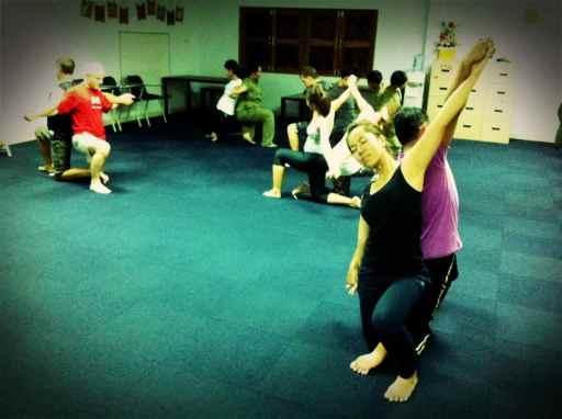 staff yoga class2