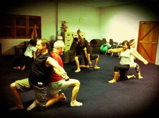 staff yoga class3