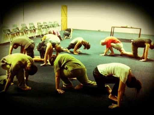 staff yoga class4