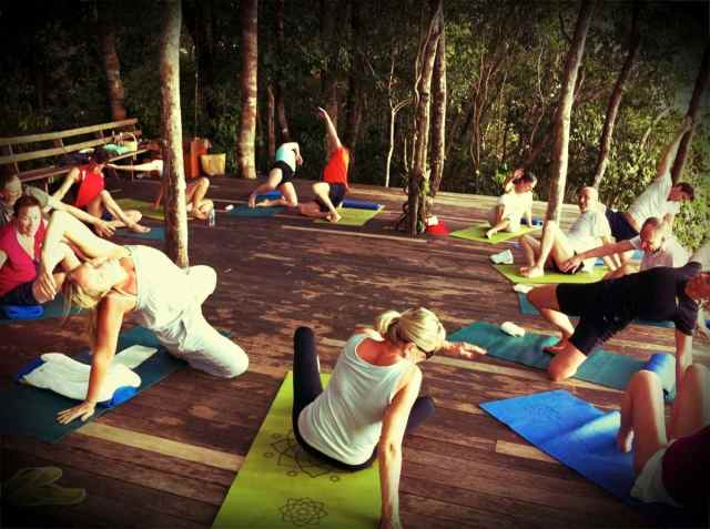yoga class-dancin butterfly