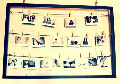 Yoga Garden photo polaroids