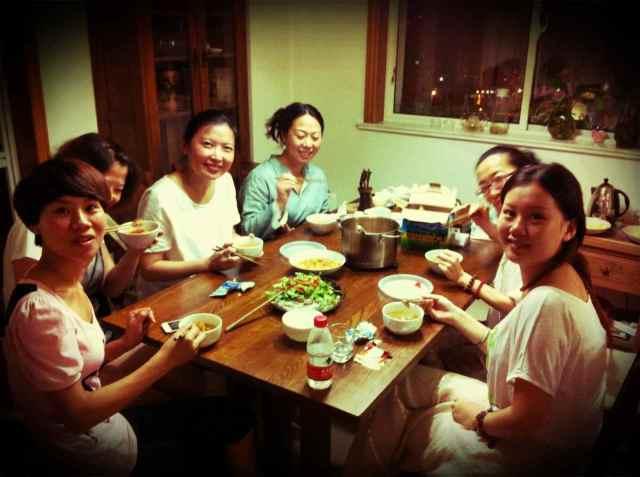 Reiki@MG-dinner
