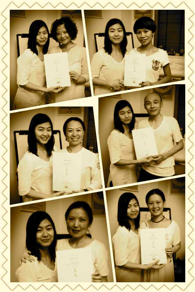 Reiki@MG-graduation collage1