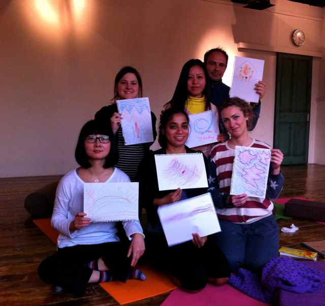 Reiki Share Nov-group+drawings