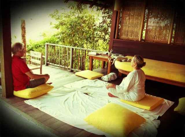 Hans+Gloria meditatin