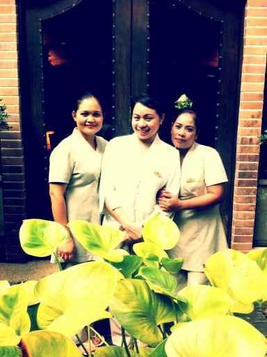 Spa staff