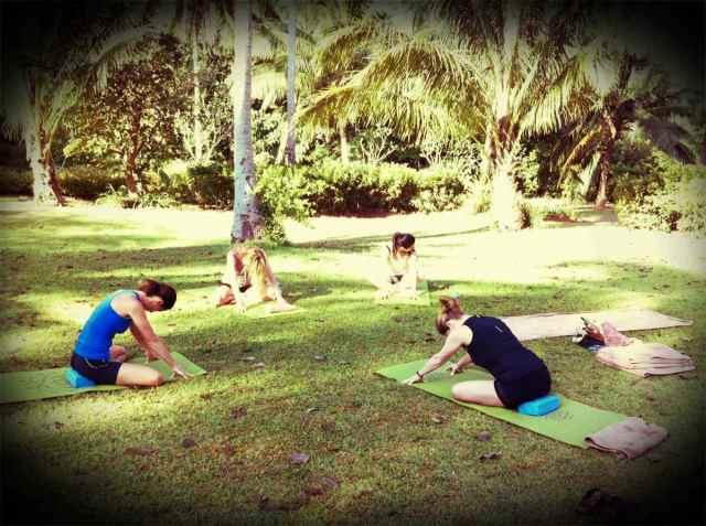 yoga@coconut lawn