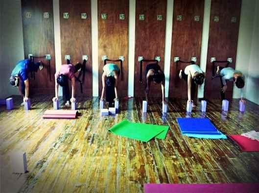 Yoga Garden-Apr Hatha class1