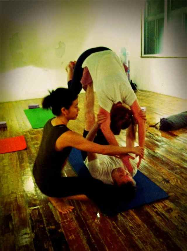 Partner Yoga@YG-12
