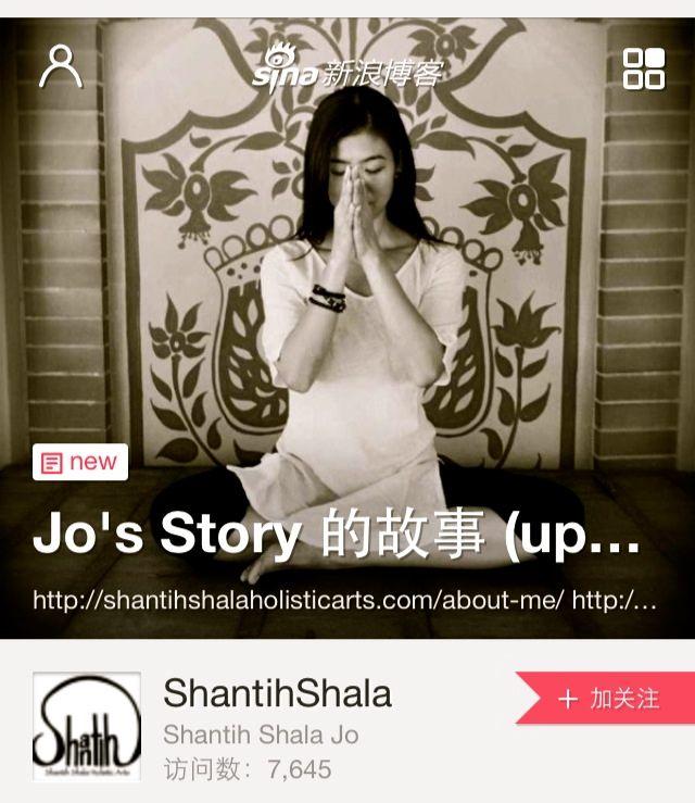 WeChat-Jo's story