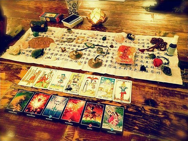 crystals+cards