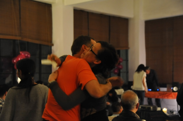 CSL party2015-Rob hugs Mai