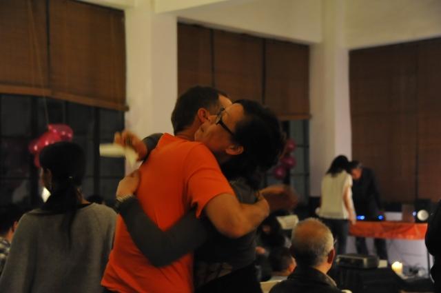 CSL party2015-Rob hugs Mai