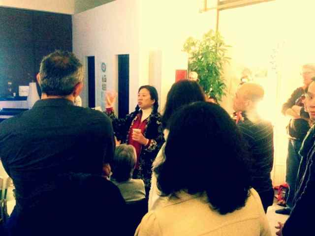 CSL party2015-time bank speaks