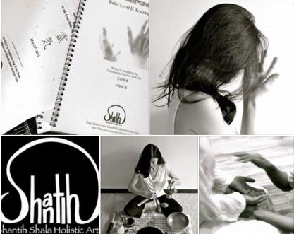 Reiki training collage2