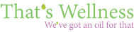 That's Wellness Logo 2