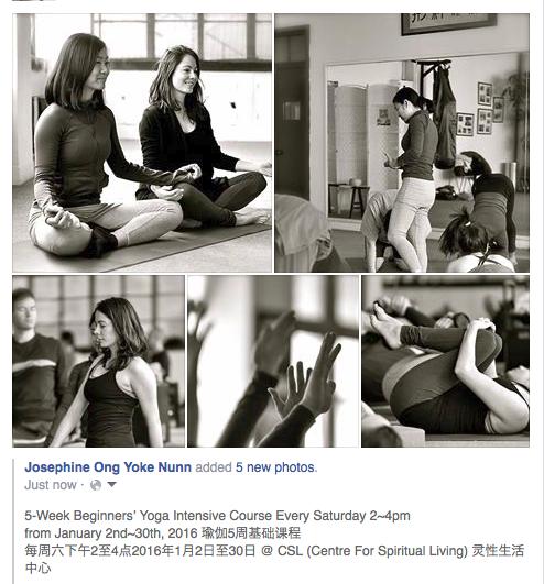 Yoga course @ CSL
