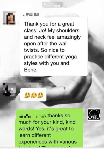 feedback yoga-mercedes