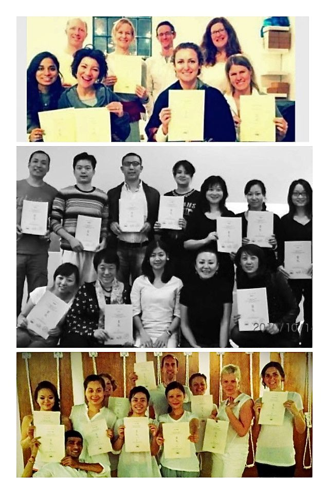 Reiki graduates collage2