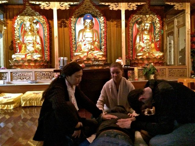 Suzhou retreat-Reiki1