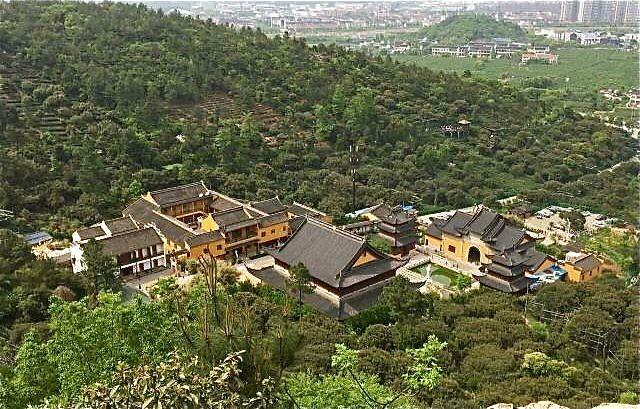 temple ariel view