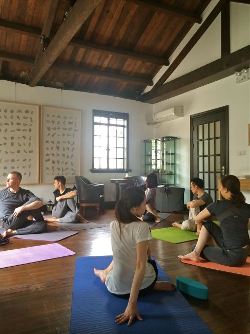 yoga @ The Know-5:7