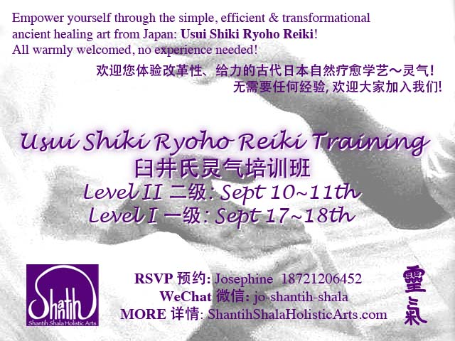 SEPT Reiki courses