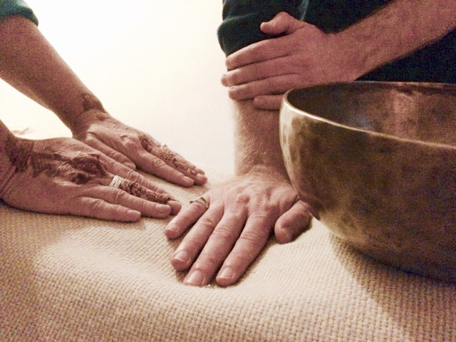 Reiki hands+bowl