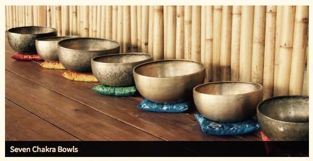 Akiko-7 chakra bowls