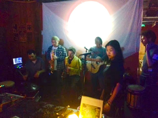 Trippy shamanic band